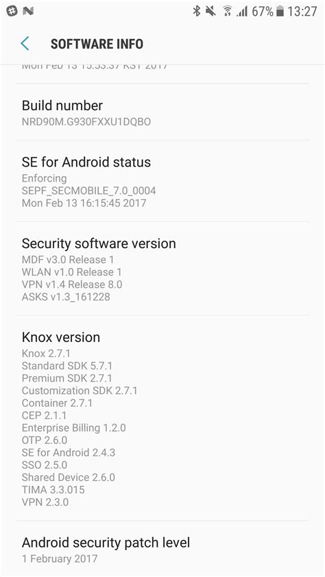 February security patch hits the Galaxy S7 in India