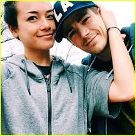 Grant Gustin and LA Thoma are married