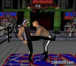 ECW Anarchy Rulz ROM (ISO) Download for Sony Playstation