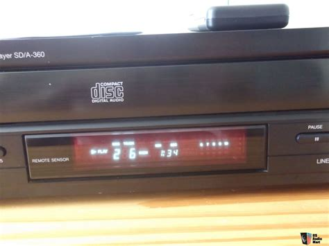 Carver SD/A-360 MULTI CD Player W/Remote/MANUAL ON CD FREE