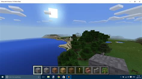 Mojang starts rolling out Minecraft: Windows 10 Edition