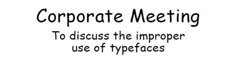 6 Basic Typography Blunders that Make You Seem Clueless