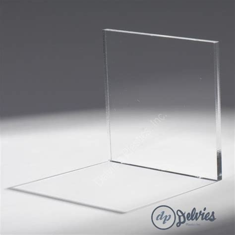 Crystal Clear Cell Cast Plexiglass Sheet from Delvie's