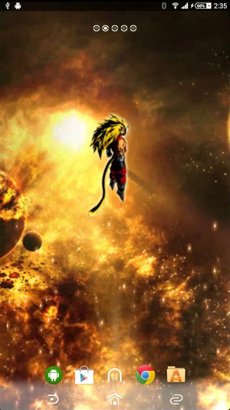 Dragon Ball Z : Worlds End Android Live Wallpaper - YouTube