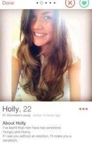 22 Hot and Hilarious Tinder Profiles Good for a Laugh and