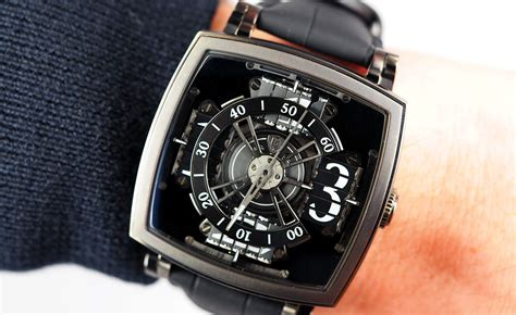 SIHH 2017: MCT Sequential One S110 EVO Vantablack by Anish