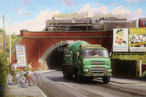 """""""Albion truck mixer"""" by Mike Jeffries 