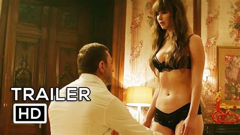 RED SPARROW Official Trailer 2018   Jennifer Lawrence