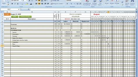 Cost Breakdown Template Spreadsheet Templates for Busines
