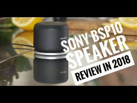 Sony BSP10 Bluetooth Speaker Review after Unboxing [4K