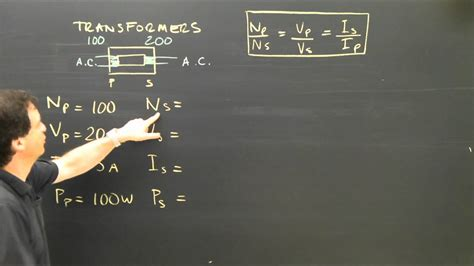Electrical Transformer Calculations Physics Tutorial - YouTube