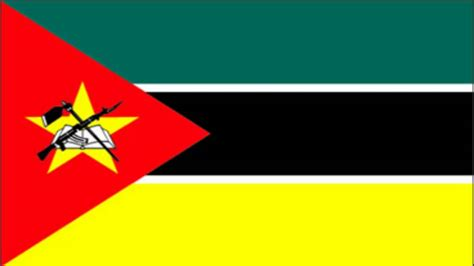 Mozambique Flag and Anthem - YouTube