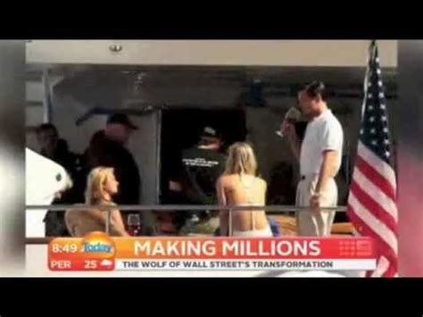 REAL WOLF OF WALL STREET 2013 Today Show - YouTube