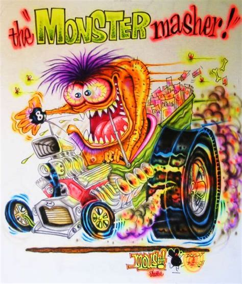 JOHNNY ACE Ed BIG DADDY Roth Rat Fink MOUSE! MONSTER T