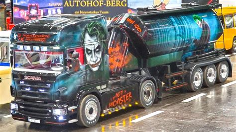 SCANIA R470 JOKER AMAZING RC MODEL TRUCK AT WORK SCALE 1