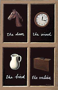 Words in Images: Magritte