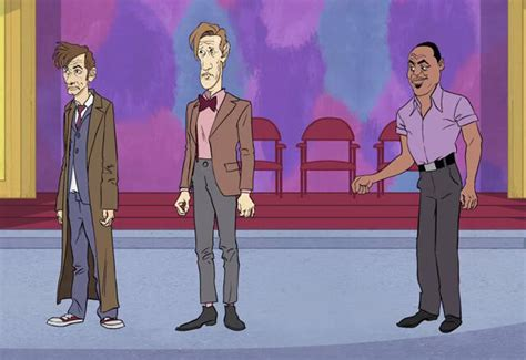 Exclusive: Cartoon Network's MAD Spoofs Doctor Who and
