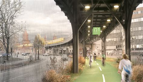 Radbahn could become Berlin's first covered cycle path