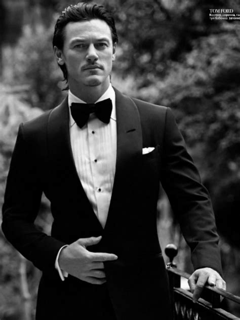 Luke Evans Cover InStyle Man Russia October 2014 | The