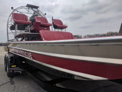 New Airboat Arrives! - Napoleon Fire and Rescue